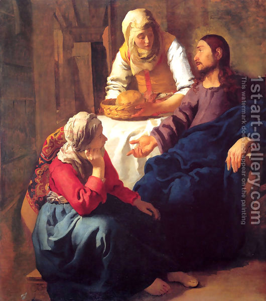 Christ-In-The-House-Of-Martha-And-Mary